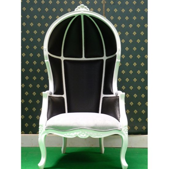 Designer Hooded Chair 1