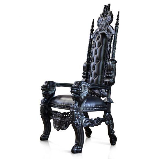 Gothic Lion Throne chair 2