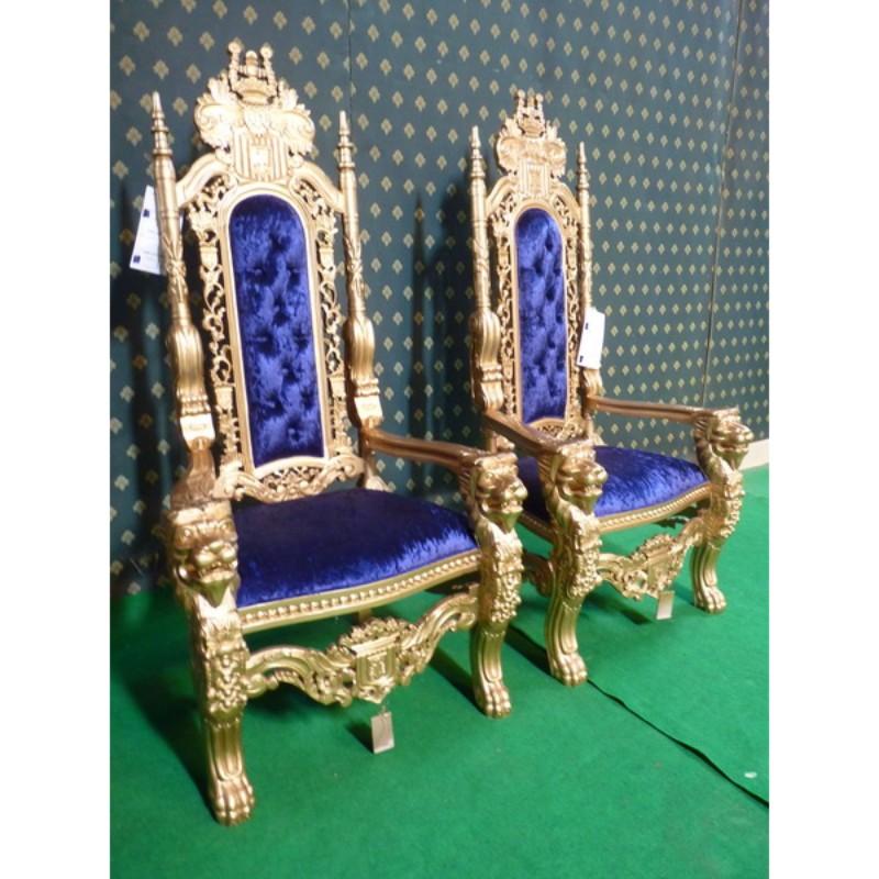 178cm Tall Throne Lion King Chair