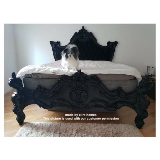 USA and EU Stock Gothic style bed 8