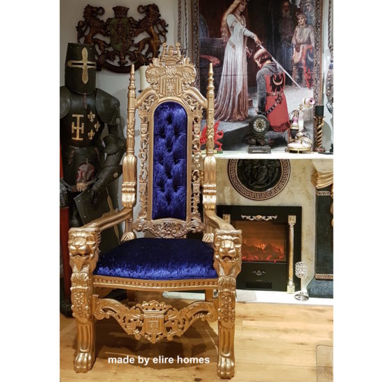 178cm tall Lion King Throne Chair 1