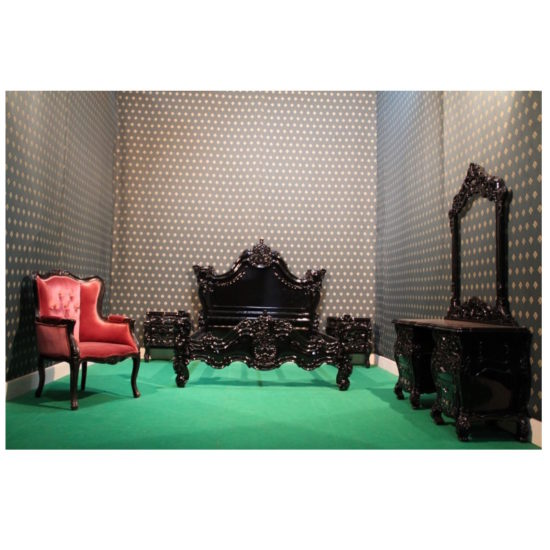 USA and EU Stock Gothic style bed 9