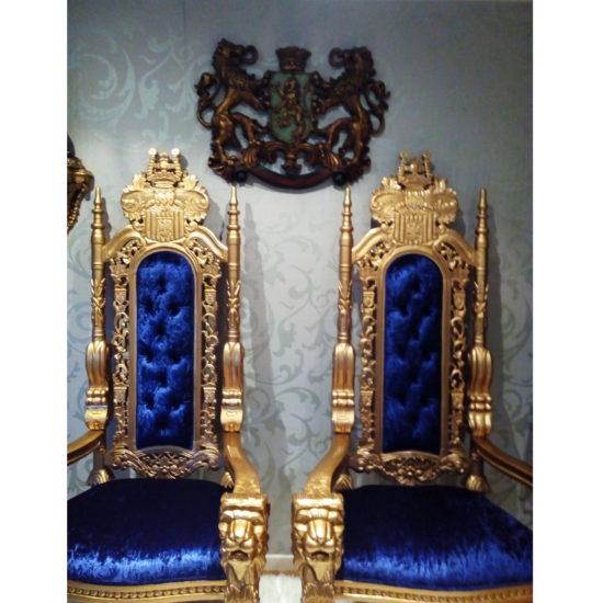 178cm tall Lion King Throne Chair 2