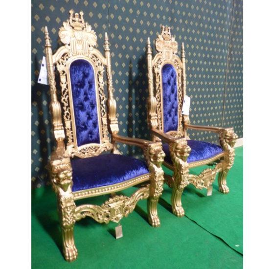 178cm tall Lion King Throne Chair 3